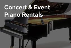 Concert & Event Piano Rentals